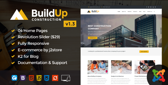 Fac3heat2 – Factory, Industry, Engineering Joomla Template - 4