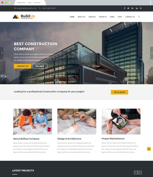 Buildup - Joomla Template